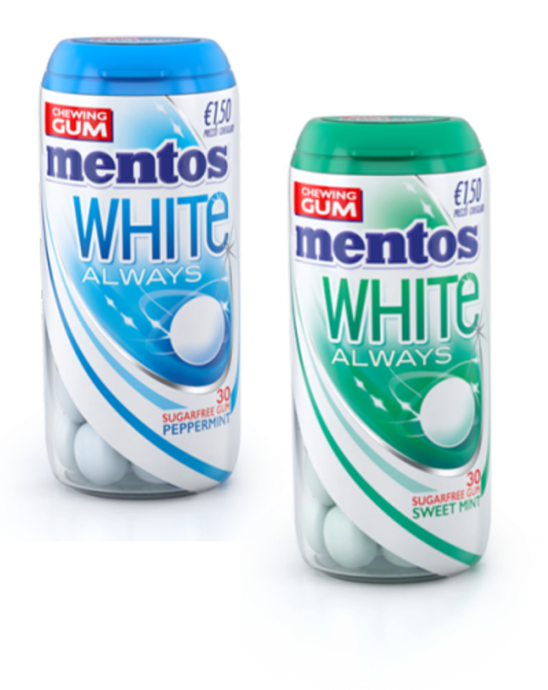MENTOS WHITE ALWAYS