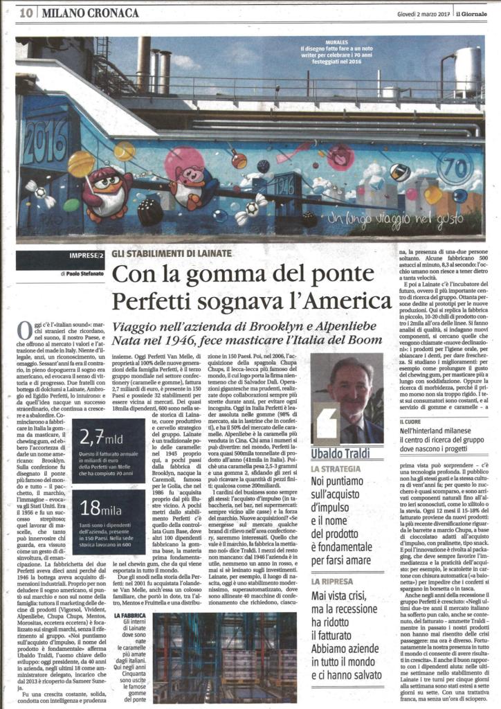 articolo il giornale 2 marzo 2017