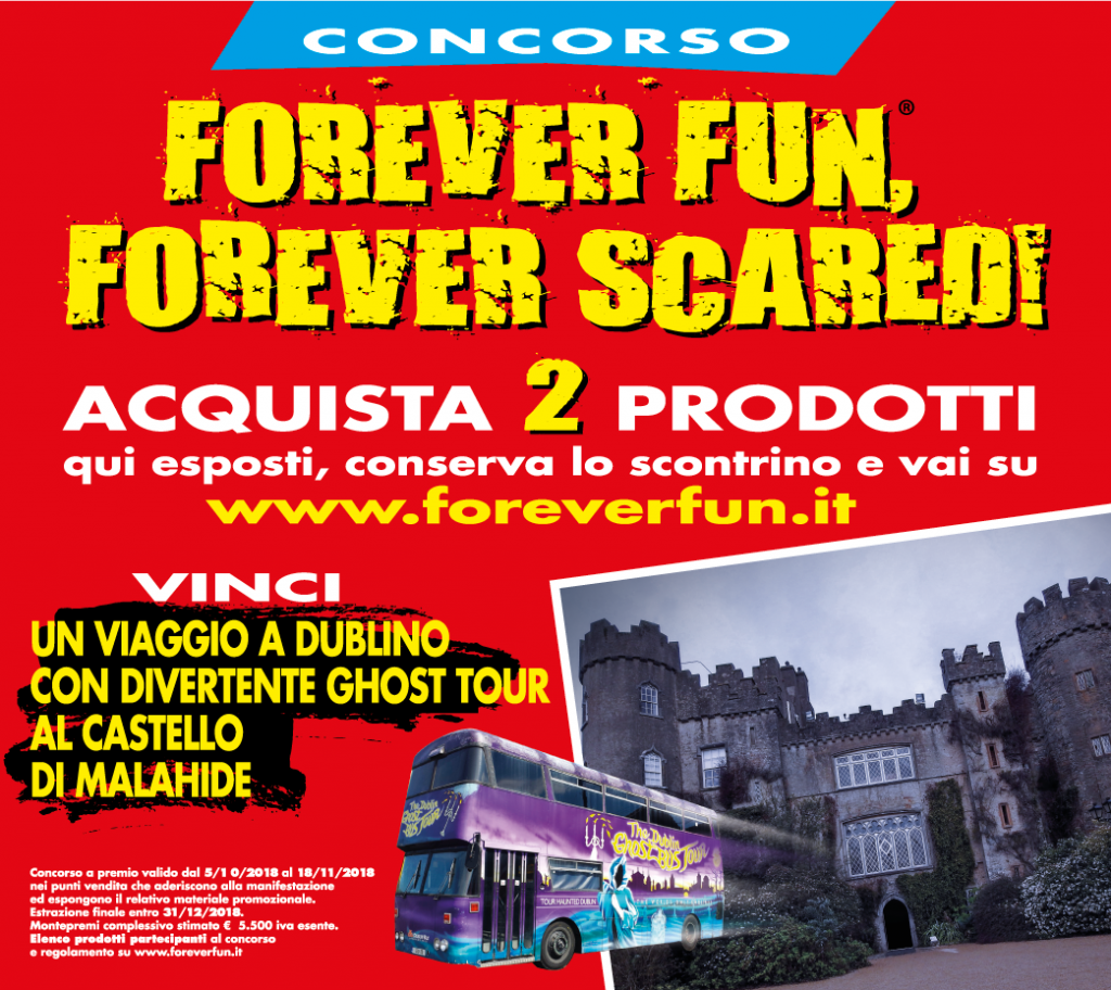 FOREVER FUN FOREVER SCARED]