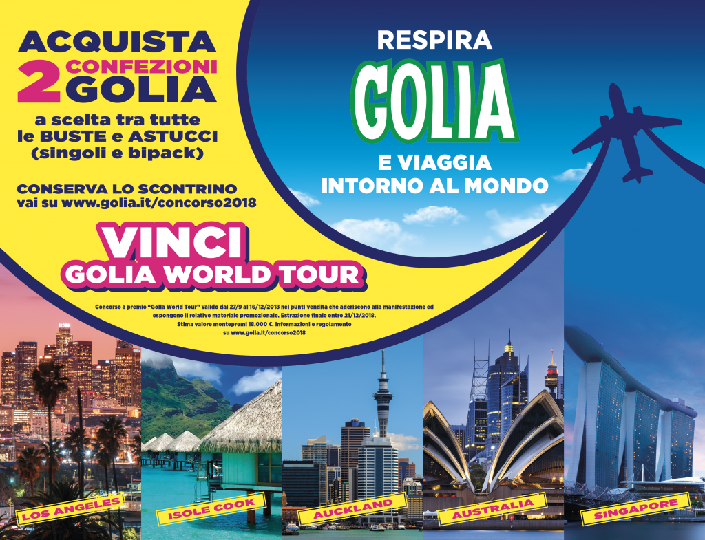 GOLIA WORLD TOUR