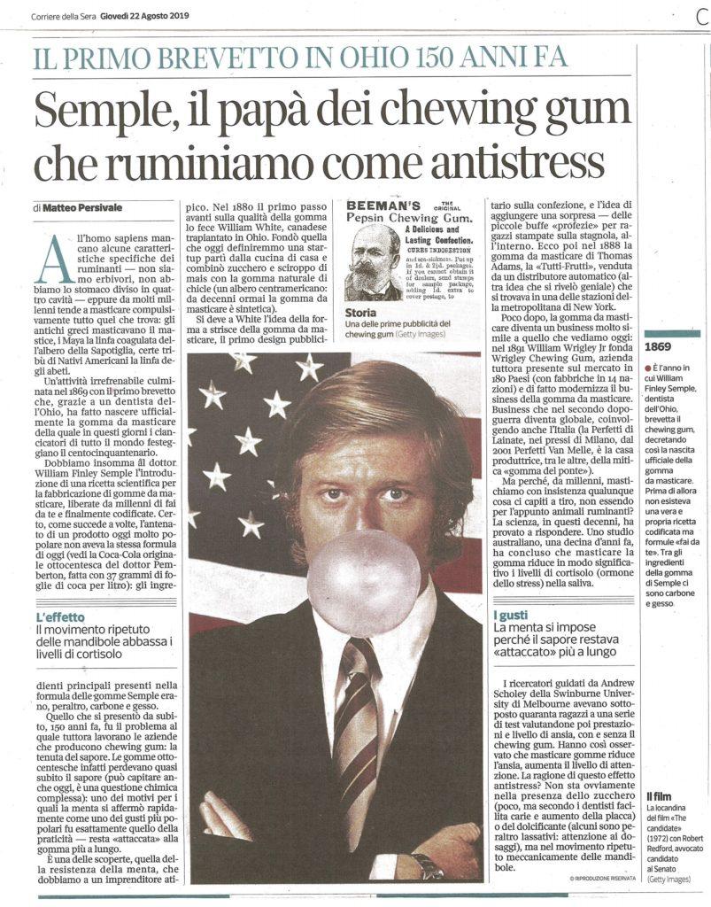 Corriere della Sera 22 agosto 2019 (2)